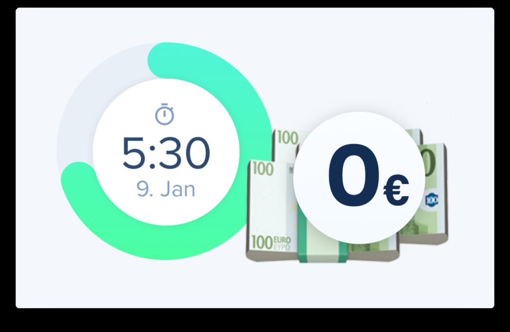 Zeiterfassung Online kann nicht nur Zeit sondern auch Geld sparen