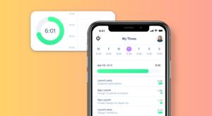 Arbeitszeiterfassung Per App mit den neuen App von awork